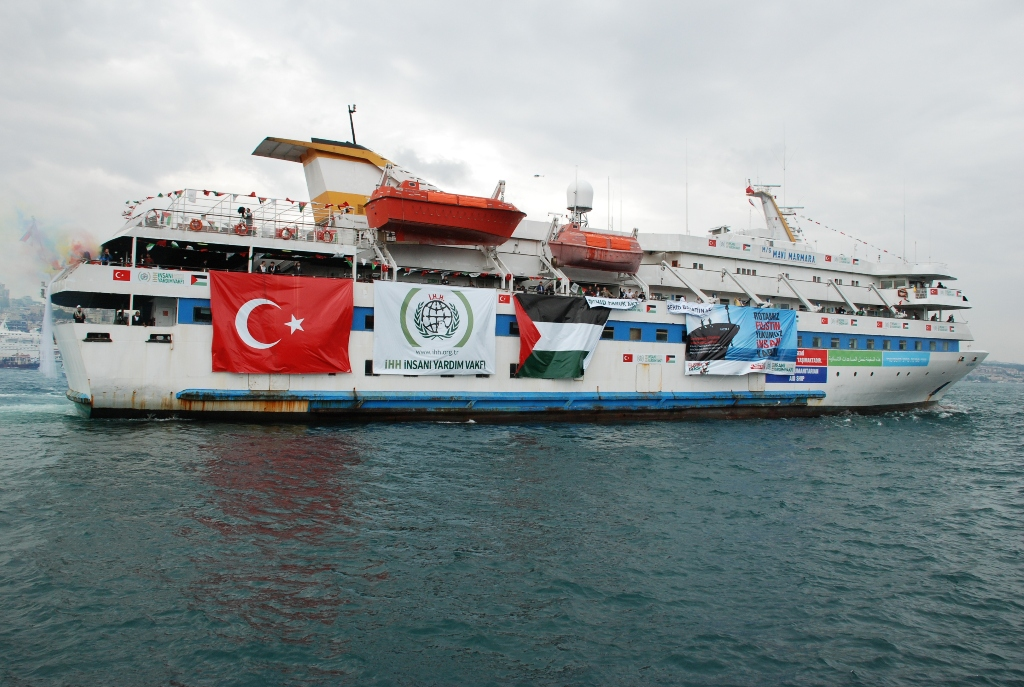 Flotilla ship the Mavi Marmara [CC: Free Gaza movement]