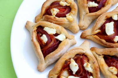 Start your meal off right with a pizza Hamantaschen appetizer