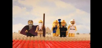 What's the story of Exodus without a Lego demo? Boring, that's what.