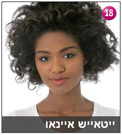 Yityish Aynaw, the first black Miss Israel