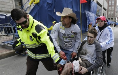 When Carlos Arredondo's son died in Iraq, he tried to kill himself. At the Boston Marathon, he helped save a stranger.