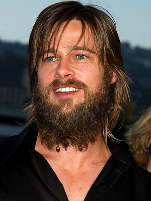 As you can see, Brad Pitt loves counting the omer. Credit: beardcoach.com