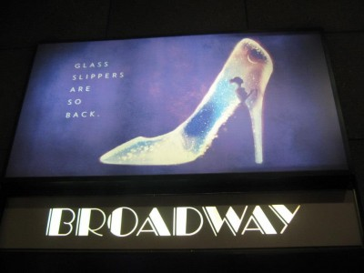 Cinderella on Broadway, 2013. | Photo by Hannah Rozenblat