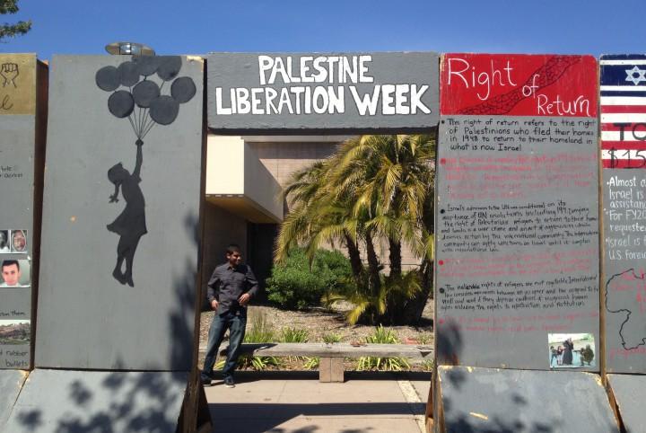 BDS advocacy at UC-Santa Barbara. Credit: thebottomline.as.ucsb.edu