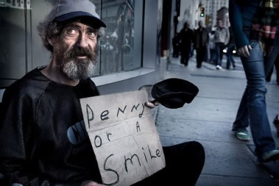 A homeless person is, first and foremost, a person. [CC http://stormiweatherr.xanga.com/]