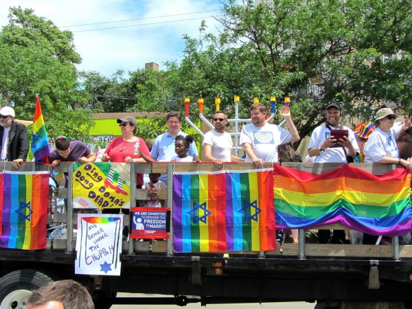 Involved Jewish queers aren't going anywhere. | CC via Flickr user puroticorico