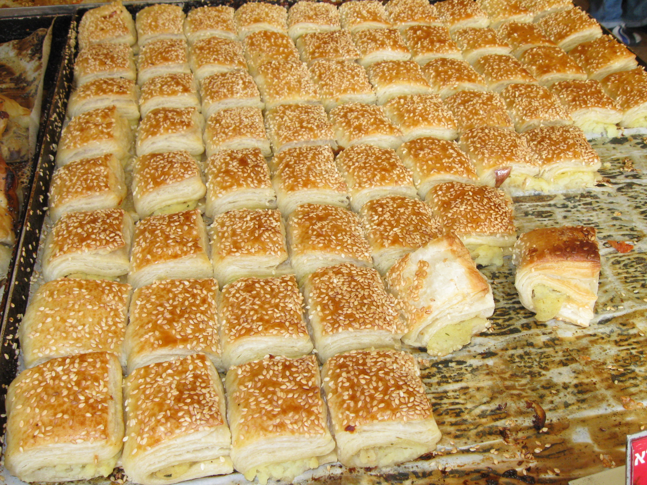 Bourekas. Delicious, but not the sum of Sephardi identity. | CC via Wikimedia Commons