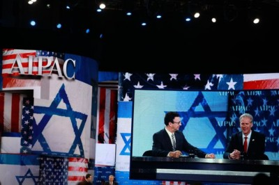 A scene from the 2013 AIPAC Conference | CC via The Israel Project