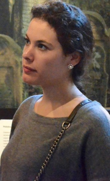 Sophie at the Galicia Museum, Krakow | Courtesy Trinity Hillel