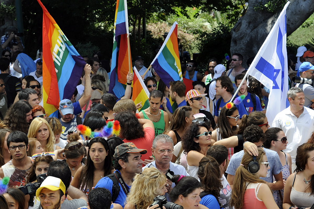 Tel Aviv Pride Parade 2012 | CC via Wikimedia Commons