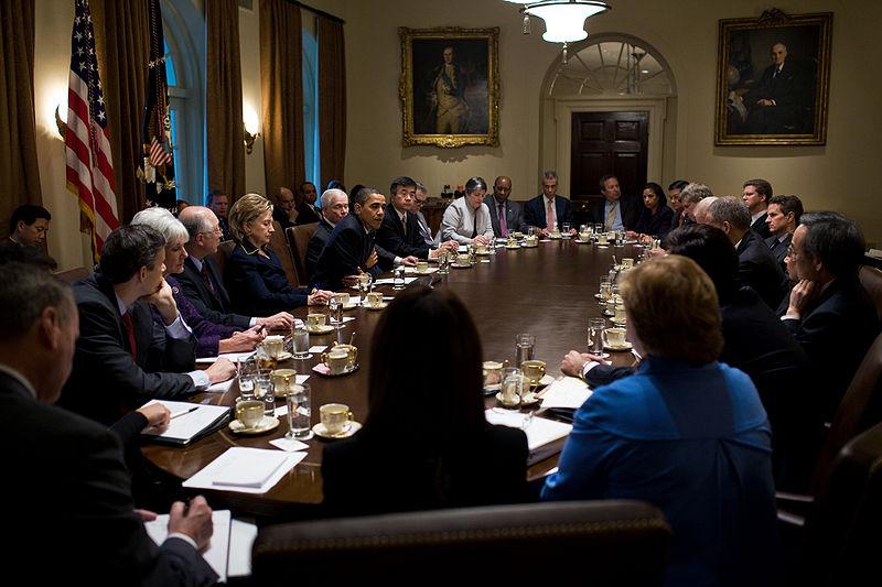 Obama's Cabinet. | CC via Wikimedia Commons