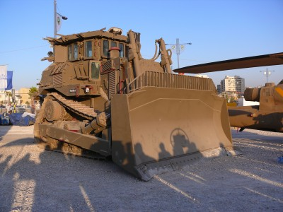 Israeli bulldozer. | CC via Wikimedia Commons