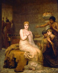 """Vashti Refuses the King's Summons"" by Edwin Long"