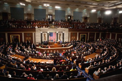 A joint session of Congress | CC via Wikimedia Commons