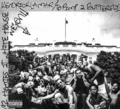 The cover of Kendrick Lamar's 'To Pimp a Butterfly'
