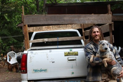 Ari Bacharach, the owner of Opa's Goat Grove. | Supplied by Ellena Rosenthal