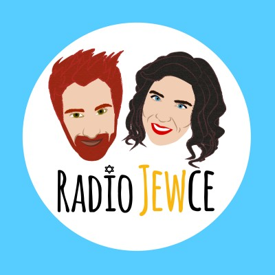 Radio Jewce is a new podcast out of Portland exploring Jewish life in the Pacific Northwest. | Designed by Mikaely Quaranta at Design 40 for Radio Jewce
