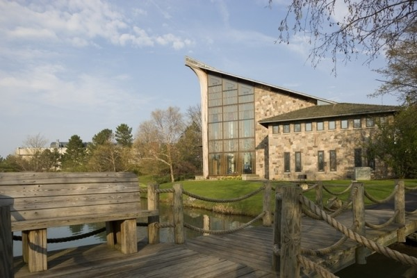 Muller Chapel at Ithaca College, which hosts the Jewish community on campus. | Via ithaca.edu