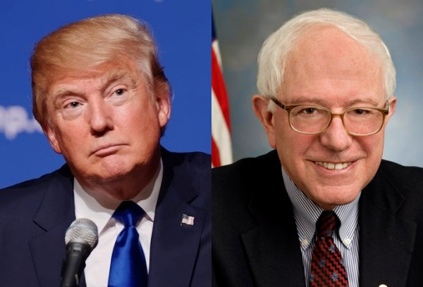 Donald Trump and Bernie Sanders talk about Jewishness in different ways