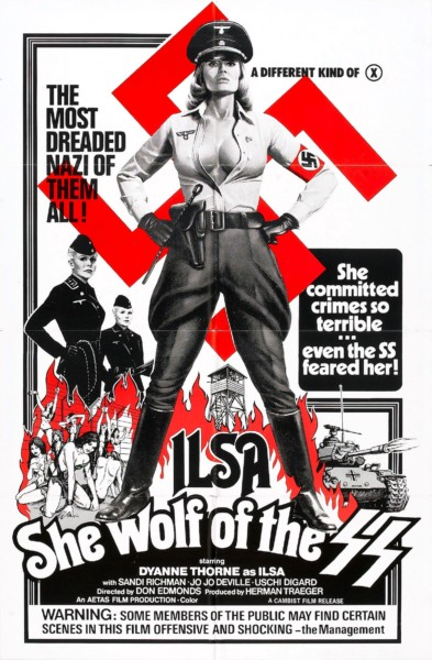 """Ilsa, She Wolf of the SS"" is a classic of the Nazisploitation genre. 