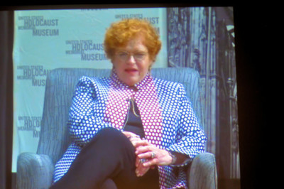 "Deborah Lipstadt at the ""Denial"" premier at Landmark Theater in Bethesda