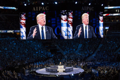 Donald Trump speaks at AIPAC| Laurie Shaull [CC BY 2.0], via Creative Commons