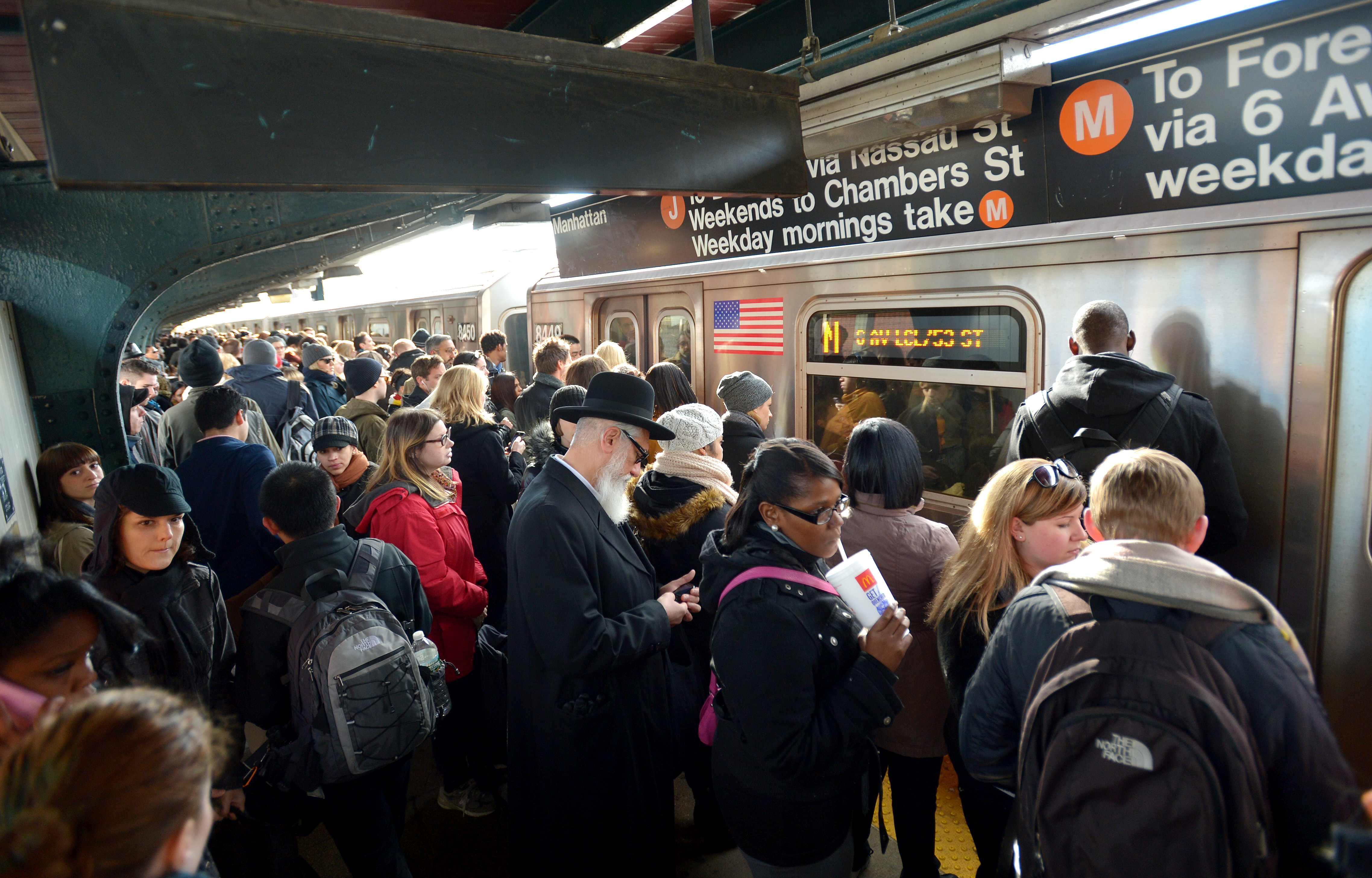 Jewish Life In The New York Subway World New Voices